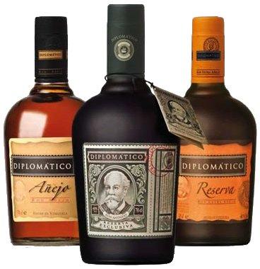 Ron Diplomatico rum - komplet sada