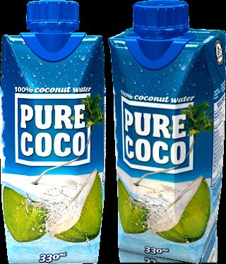 Pure coco kokosova voda upbar
