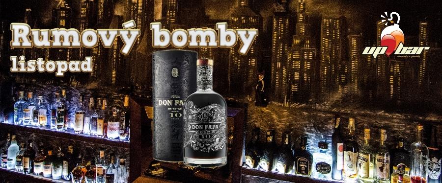 Speciální edice Rumové bomby - Don Papa desetiletý rum