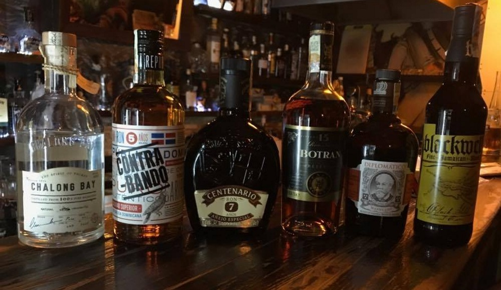 Světový den rumů v UpBaru na Žižkově